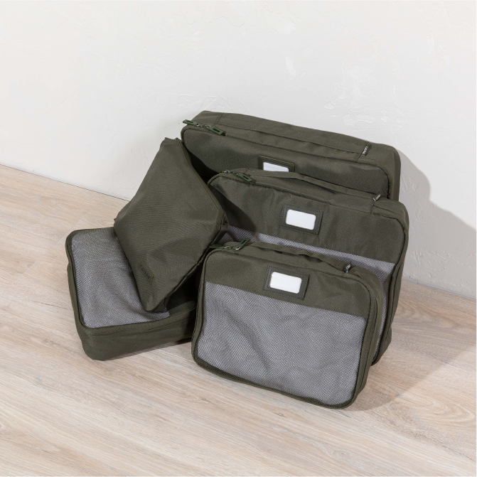 Packing Cubes 5-Piece Set - Olive