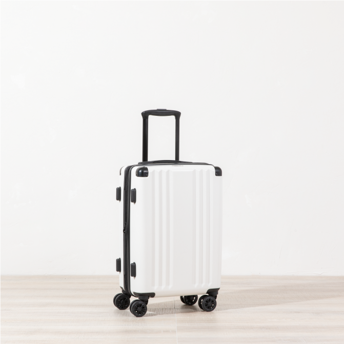 Ambeur Carry-on - White
