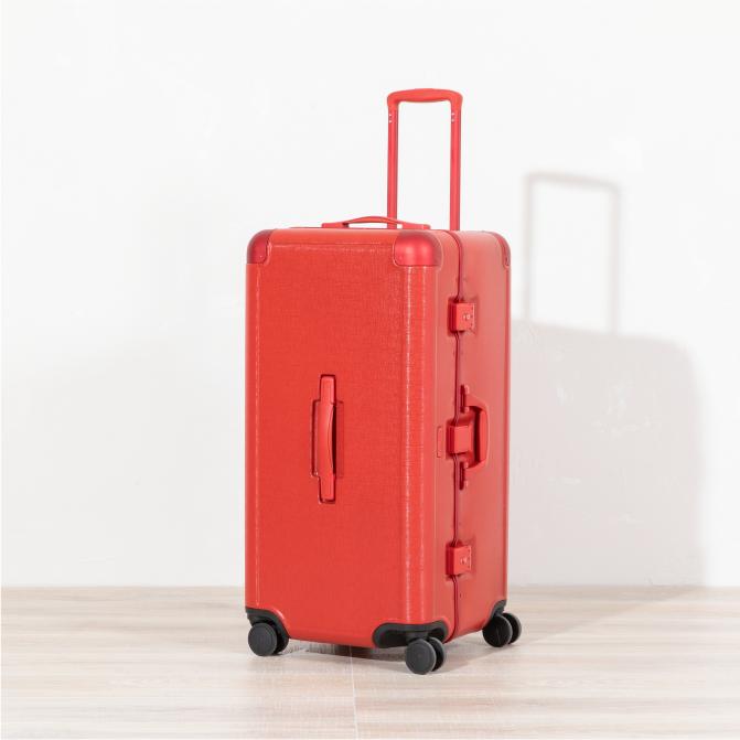 Jen Atkin Trunk Luggage - Red