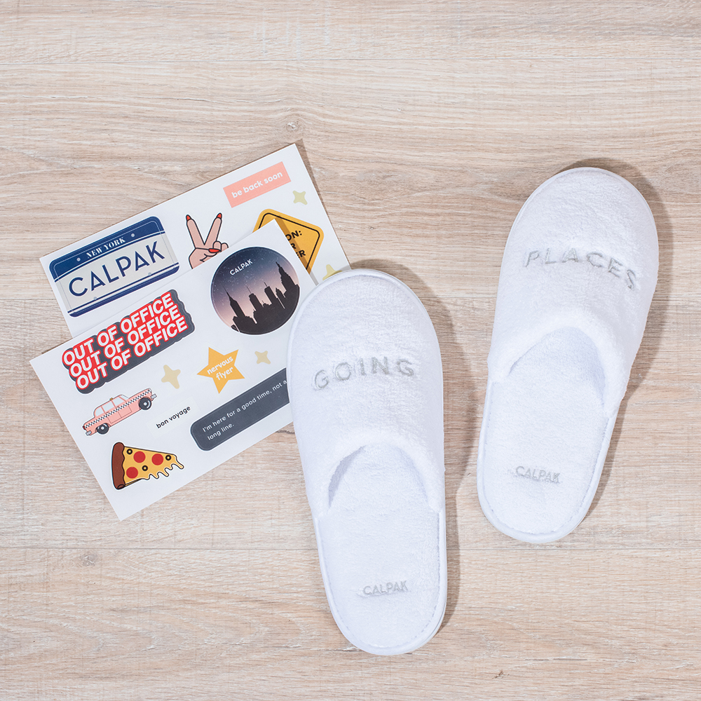 GOING PLACES SLIPPERS