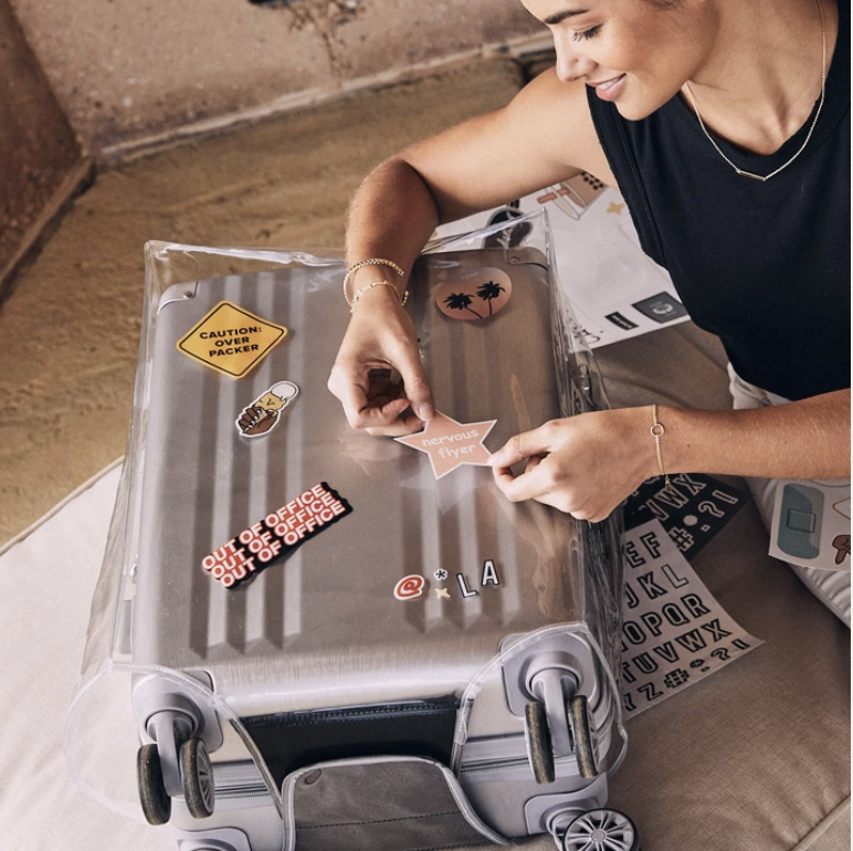 Clear Luggage Cover - Carry-On -