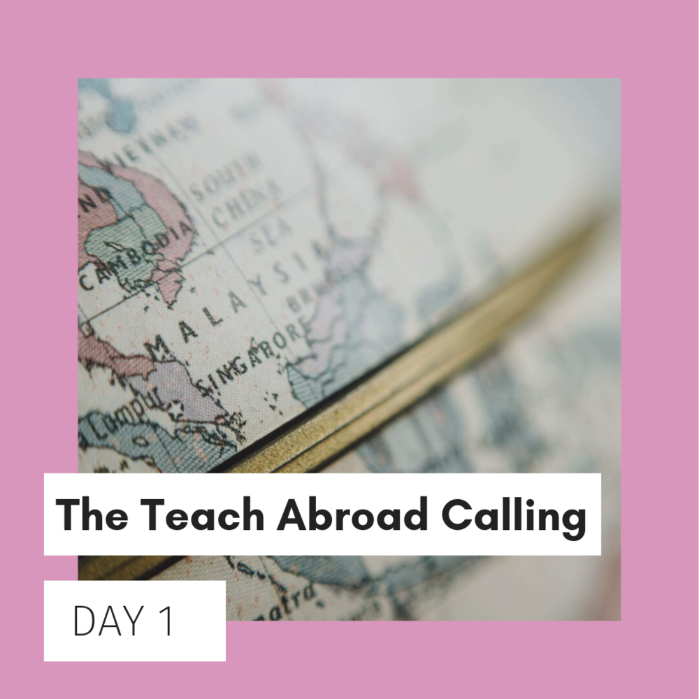 Block the NOISE!The noise that's telling you NOT to take the leap abroad. - For DAY 1, we'll discuss WHY you need to respect & fulfill your desire to teach English abroad.We'll explore what's possible with a TEFL career.🗣️ FB LIVE Discussion at 8:30pm ET / 5:30pm PT