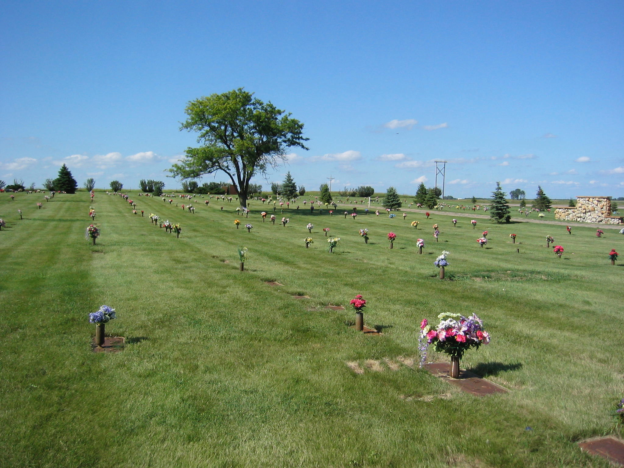 Restlawn Memory Garden - July 11, 2004