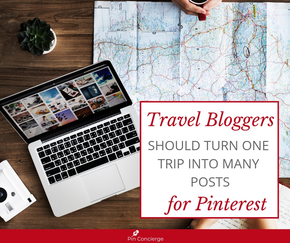How to make one trip into many blog posts for your travel blog.