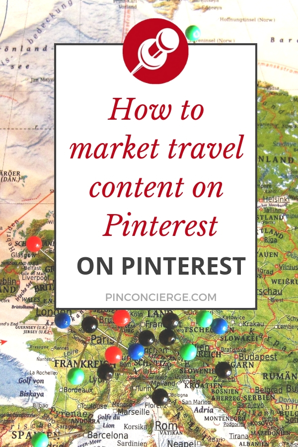 Easily market your travel blog on Pinterest with these scheduling and content creation tips. #pinterestmarketing #travelblogging