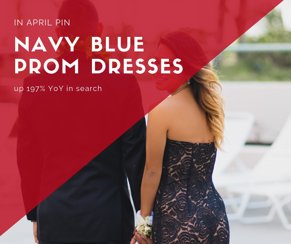 Prom is huge in March and April as girls look for fashion and accessories.