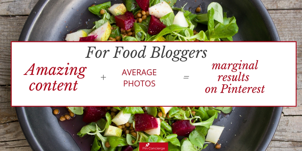 To be a successful blogger on Pinterestes you MUST have beautiful mouth-watering images. The quality of your photography will make or break your Pinterest success. #pinterestmarketing