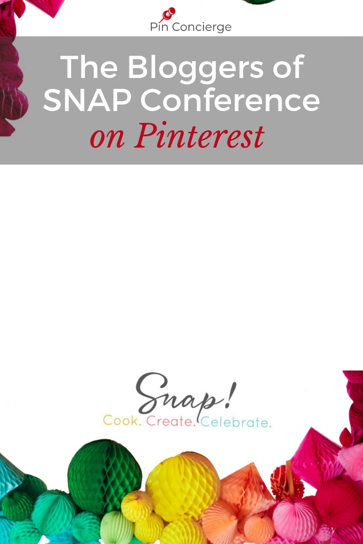 Meet some of the creatives of the DIY and craft world from the SNAP Conference, and best learn what their lead content on Pinterest is. It sometimes suprised them. #snapconf #pinconcierge