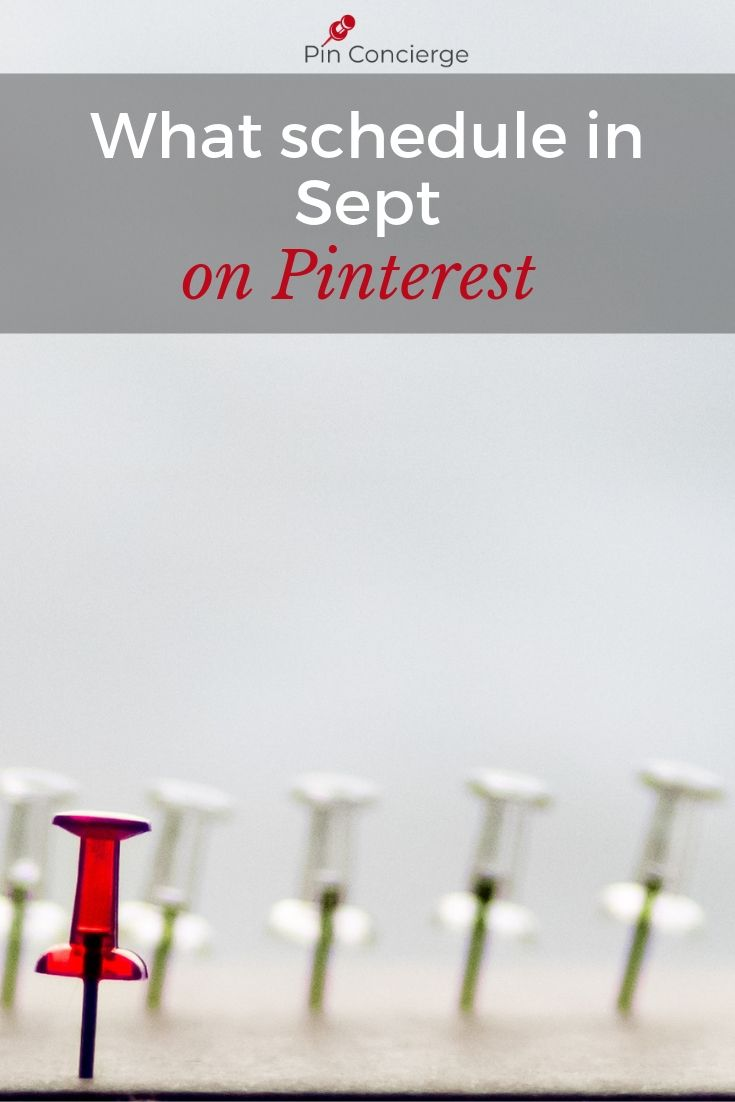 Use these suggestions for your pinterest scheduling and marketing in September on Pinterest. Pinning suggestions for wedding, travel, food, and more #whattopin #pinconcierge #pinterestmarketing
