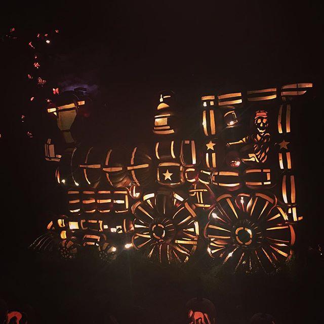 All made of pumpkins at The Great Jack O'Lantern Blaze at Van Cortlandt Manor! 🎃 #play #creation #wonder #celebration