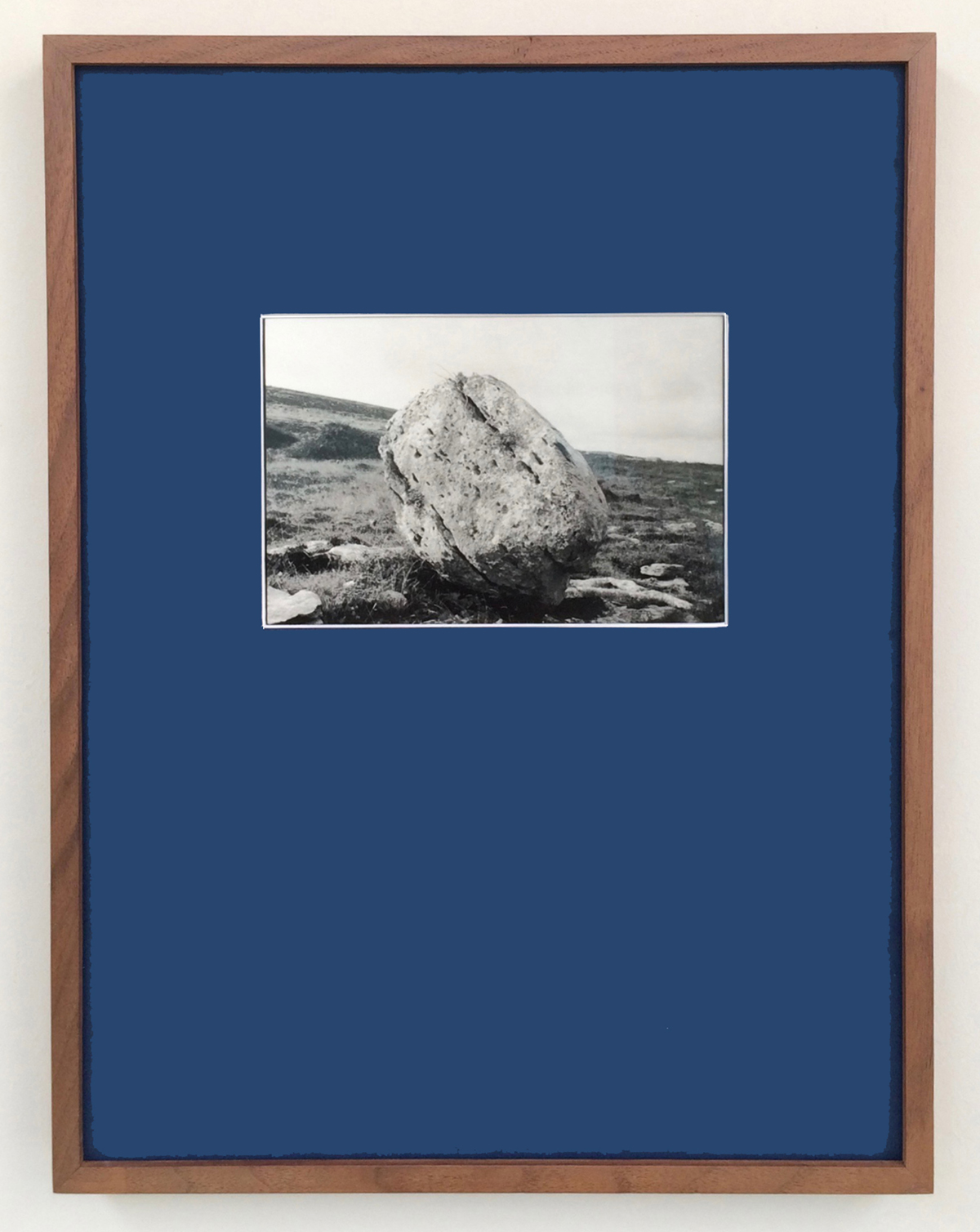 Erratic , 2017 silver gelatin photograph and augmented reality video