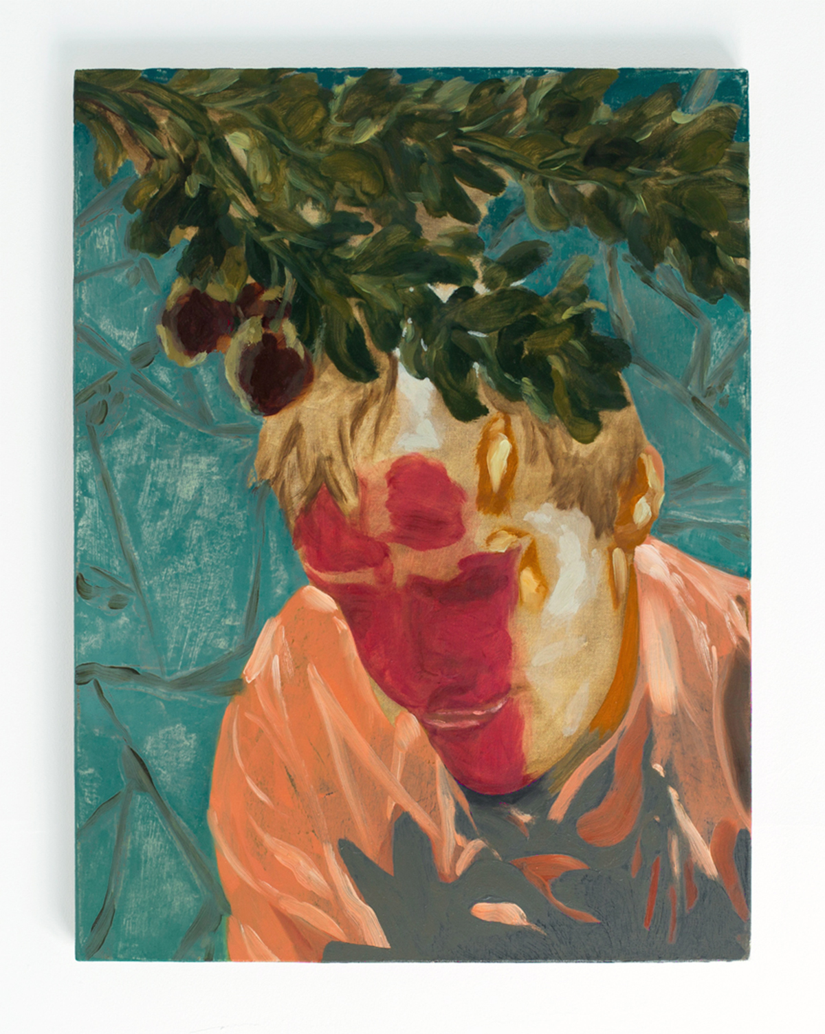 Laughing , 2015 Oil on canvas, 60 x 45.5 cm