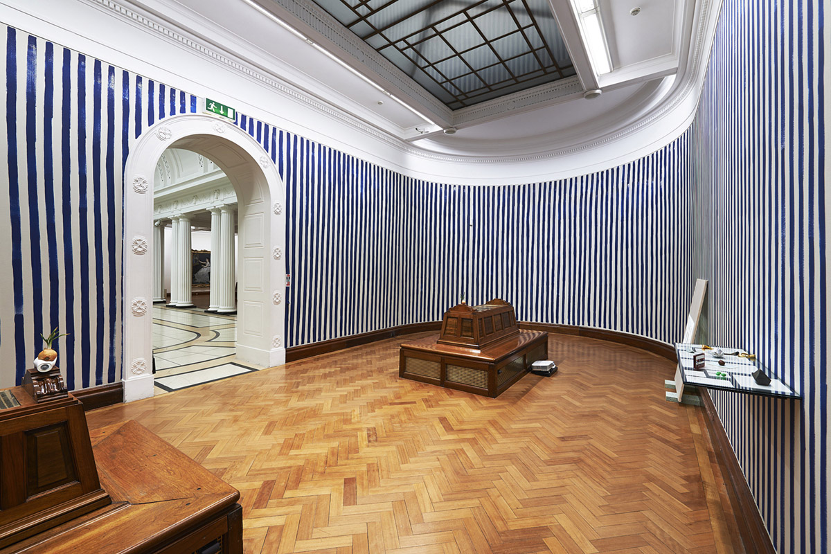 Two exercises in awareness and observation , 2013, Installation view Dublin City Gallery, The Hugh Lane