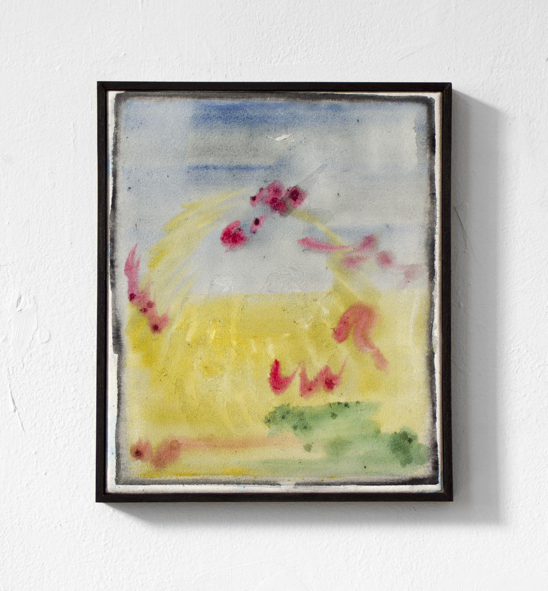 Arise, awake , 2018 30cm X 25cm, watercolour on canvas (sealed)