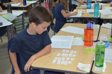Grammar Stage - During the grammar stage (roughly, elementary school), students learn the rules of all their subjects—phonics, reading, spelling, grammar, and basic computation. They also accumulate facts, expanding their vocabulary and acquiring information about history, science, geography, and more.