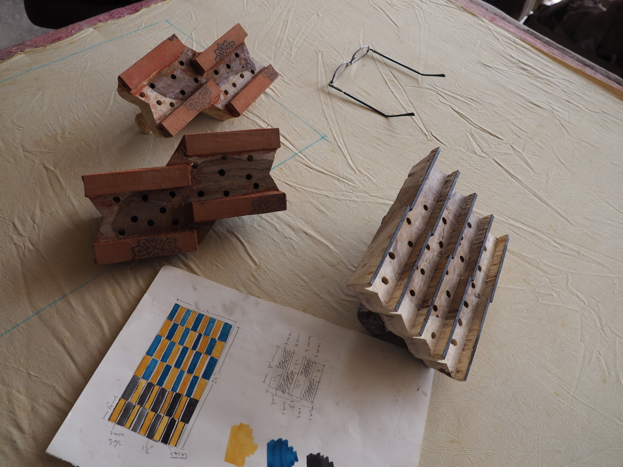 Mara Vera printing blocks