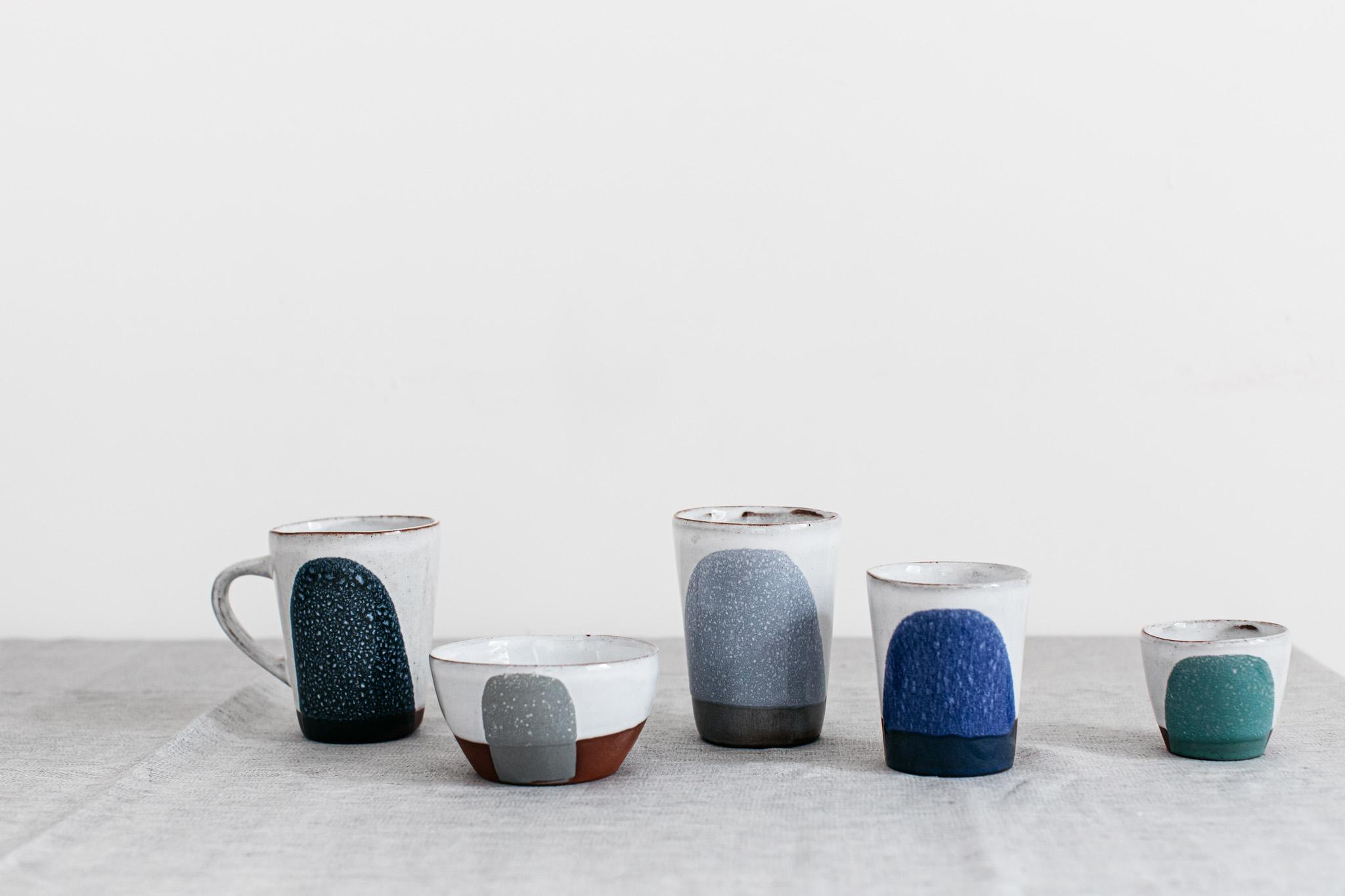 Silvia K ceramics drinkware terracotta cup beaker espresso tea bowl handmade