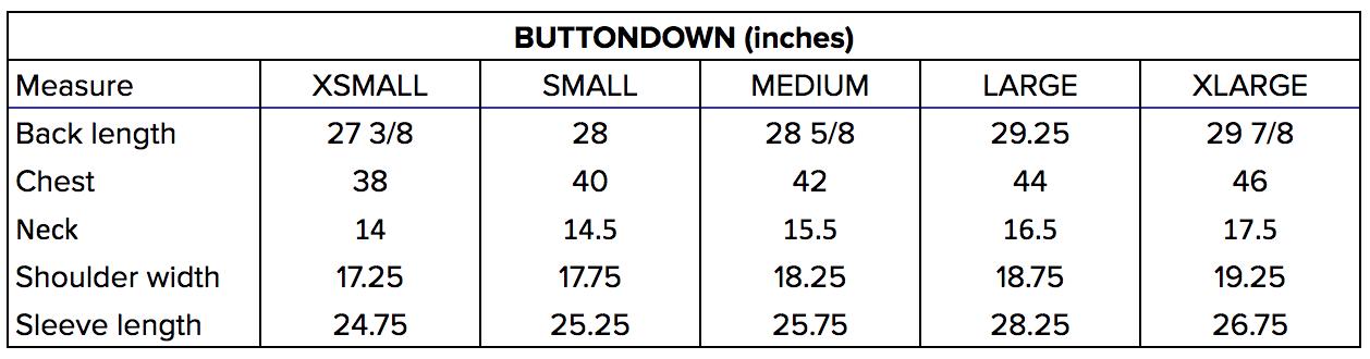 buttondown_sizechart.png