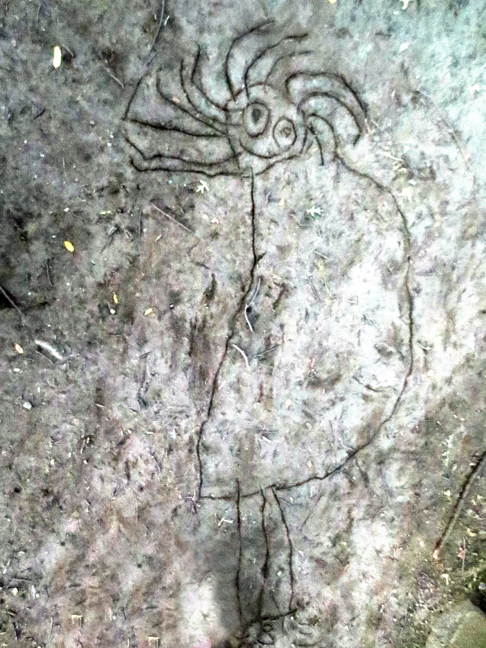 Salem Witch Site - Joshelyn Andrews, Sand Graffiti