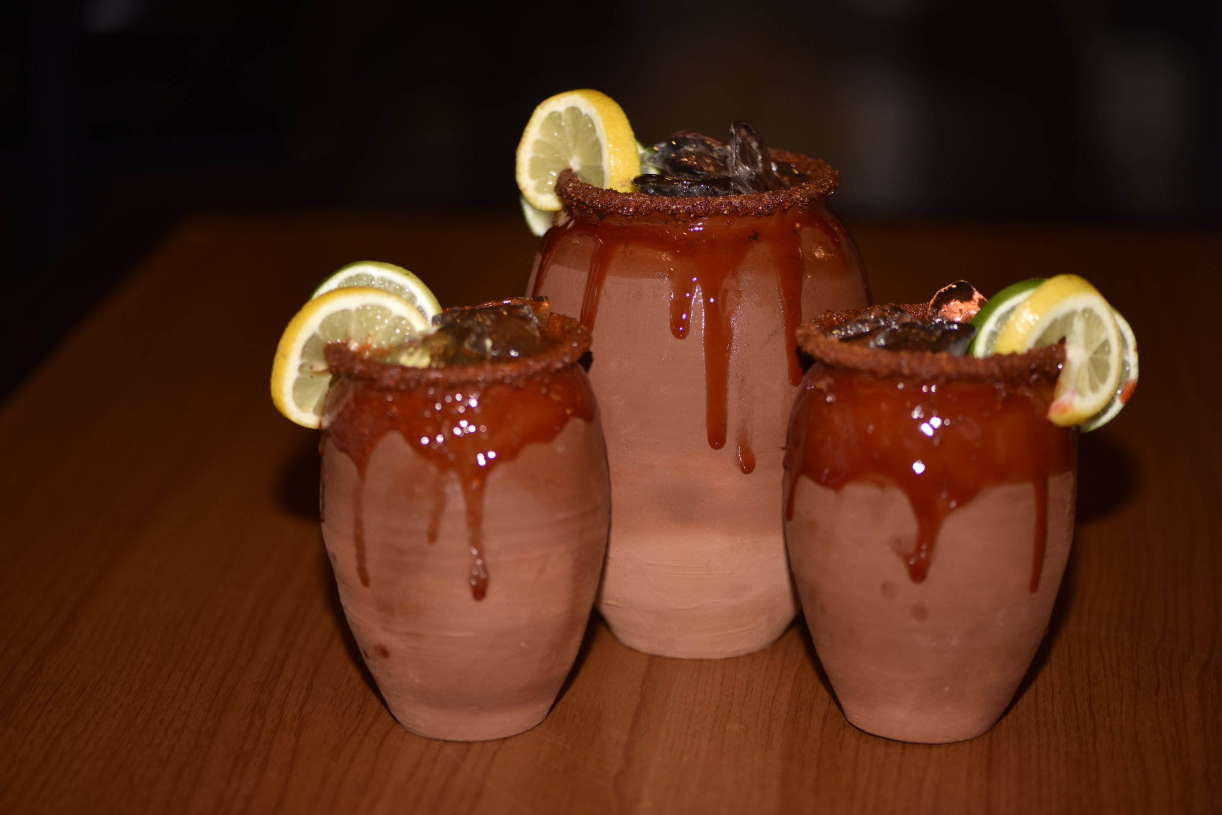 What's a Cantarito? - The Cantarito is a traditional  Mexican cocktail named after the handmade clay jug that it is typically served in. The classic favorite, is a refreshing mixture of silver or gold tequila, orange, grapefruit, and lime juice served on the rocks with a chili lime rim.