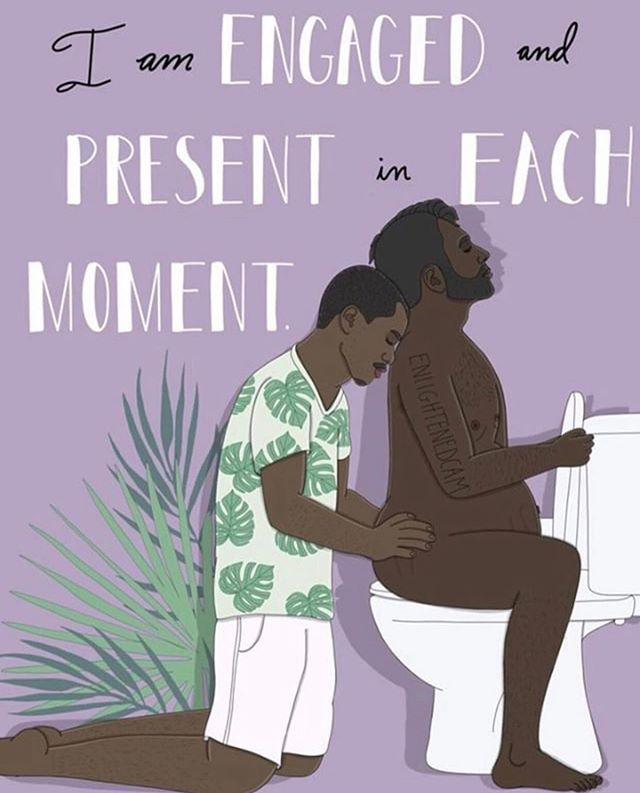 @birthfit Community! We need your help! - -  @enlightenedcam was banned after sharing this beautiful and important illustration of #transbirth (A trans man is laboring on the toilet supported by his partner) - She is locked out of her accounts and ALL of her illustrations, tags, and reposts have been removed from IG. This image violates Nothing. - - We will NOT / can not allow @instagram to get away with transphobic censorship. And beyond that y'all, each and every one of you who reported this work should be ashamed of yourselves. - -  #transvisibility matters. #transparents matters. If our spaces are not supportive of all families and all birthing parents they are not supportive. - -  Please follow @enlightenedcam2 and join us in sharing her work and demanding that IG #bringbackenlightenedcam - Repost ➡️@4thtribodies - - -  #enlightenedcam #seahorsedad #translivesmatter #queerparents #queerparentsofcolor #lgbtqfamily #lgbtqfamilies #pregnancy #birth #labor #doula #laborsupport #4thtrimester