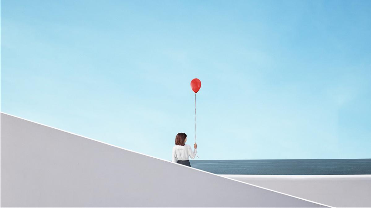 "©Serget Fett ""Девушка с шариком"""