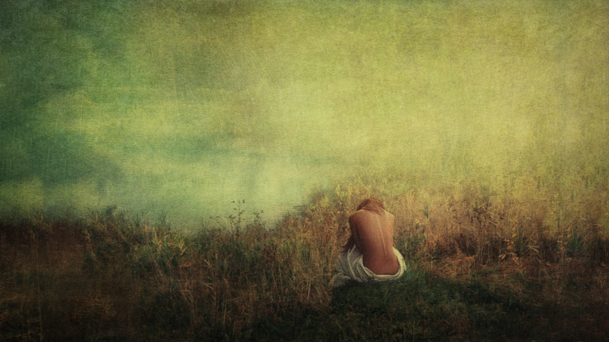 "©Serget Fett ""Девушка на берегу"""