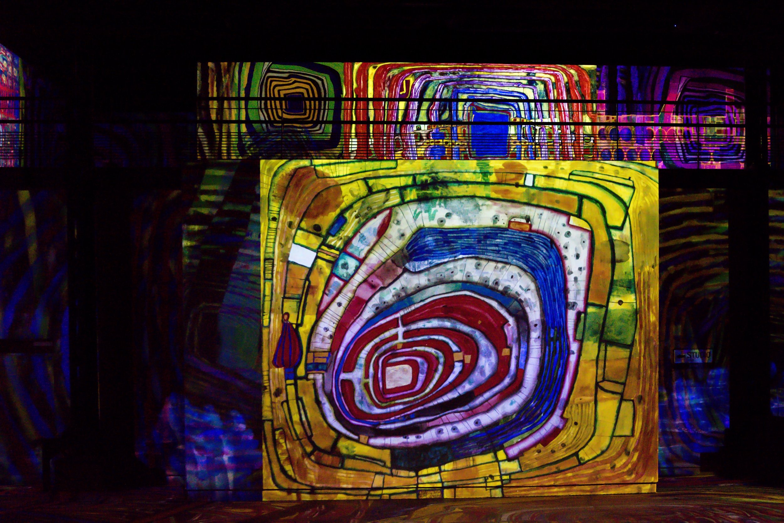 """""""Hundertwasser, in the Wake of the Vienna Secession"""" © Culturespaces / E. Spiller"""