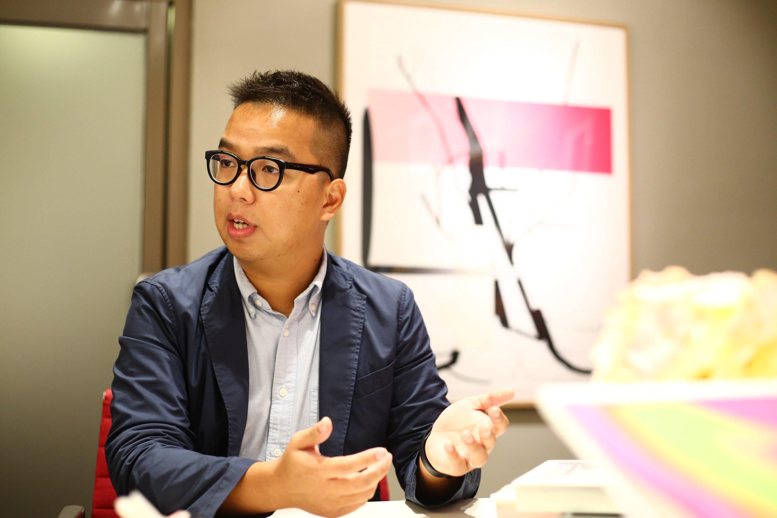 ▲ TASCHEN品牌及零售經理Frankie Ho。