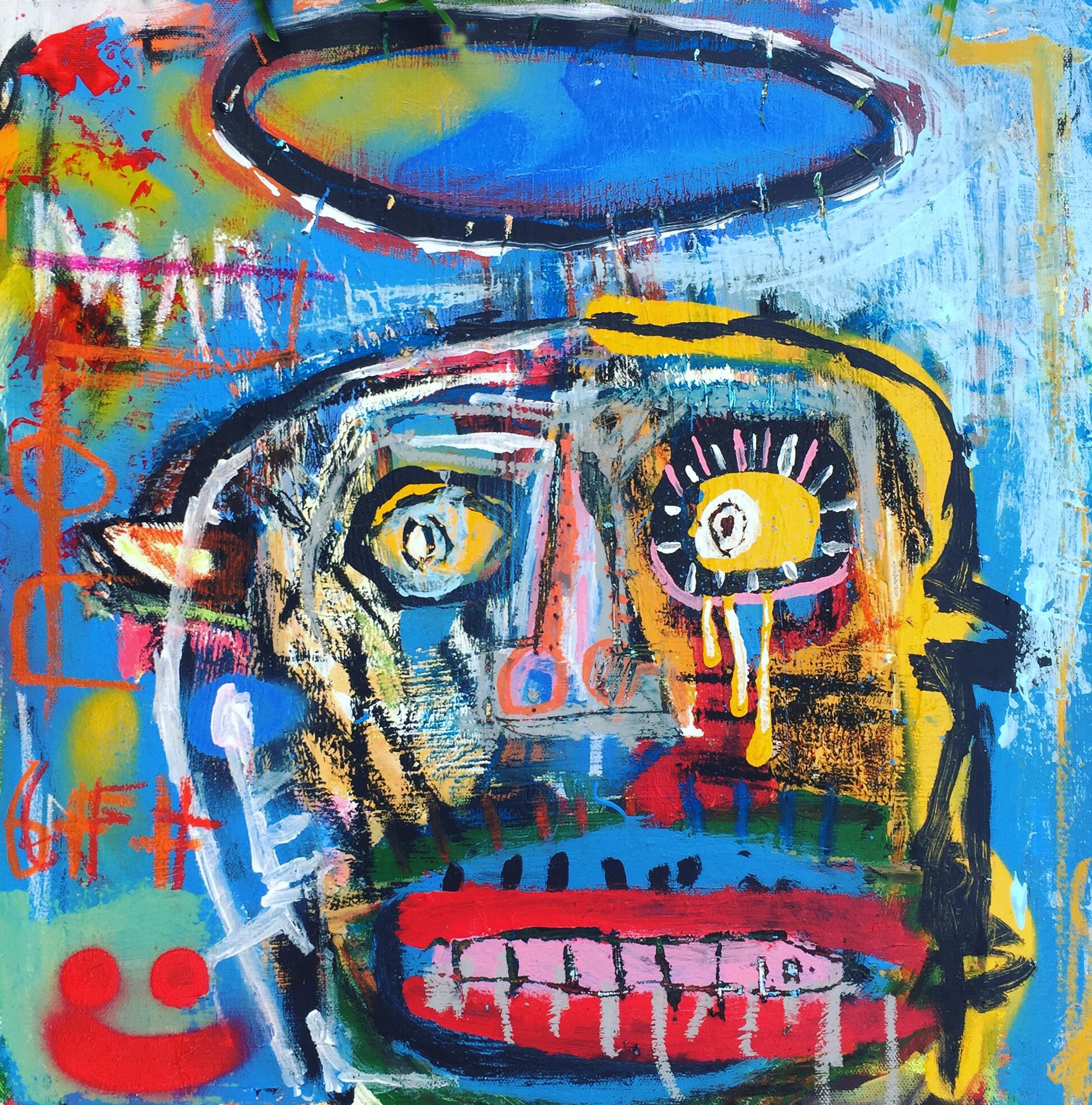 """""""Fear"""" by Mac Morgan, The Gallery Eumundi, Australia, Room 4215"""