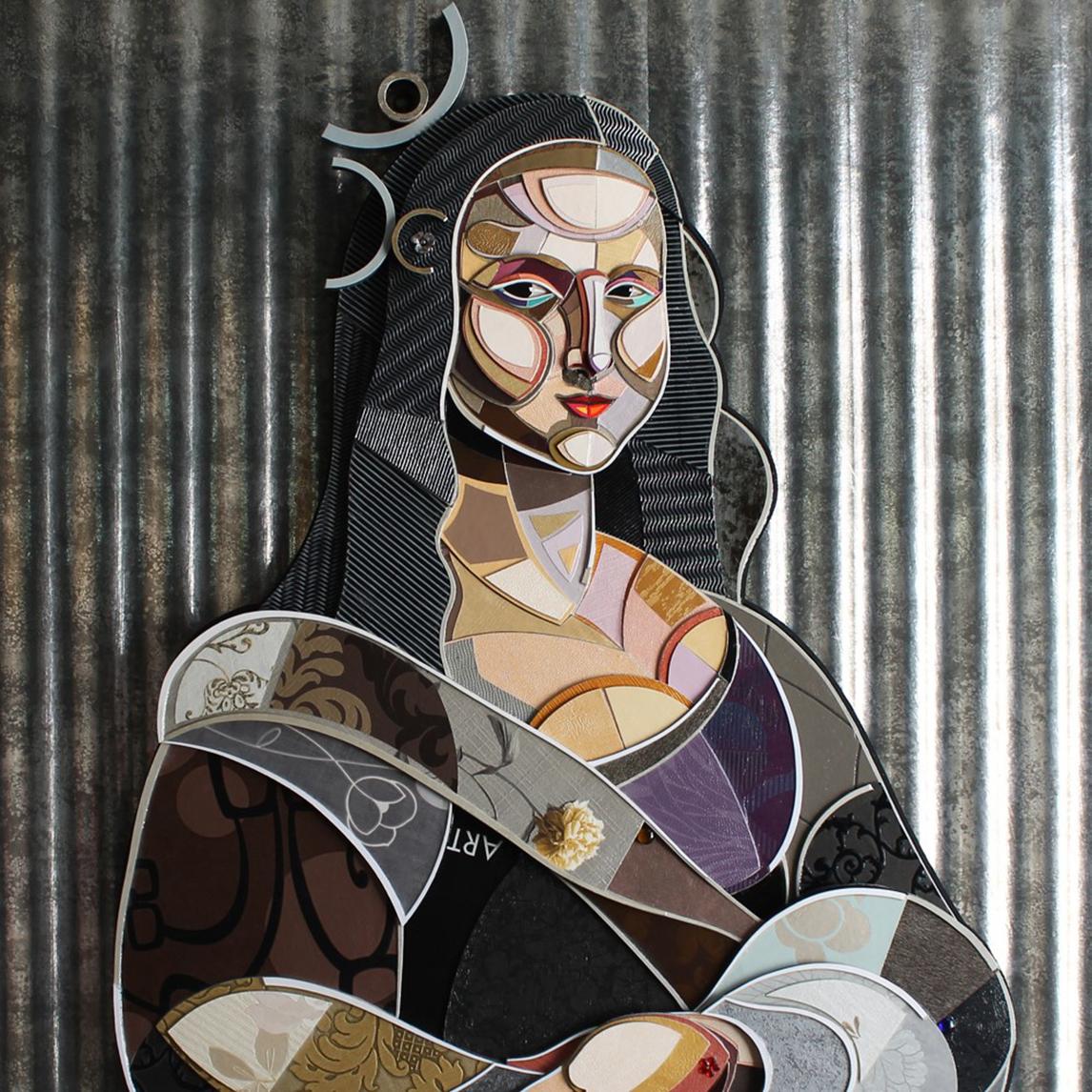 """La Joconde"" by Abelardo Hernandez, Carre d'artistes, Hong Kong, Room 4126"