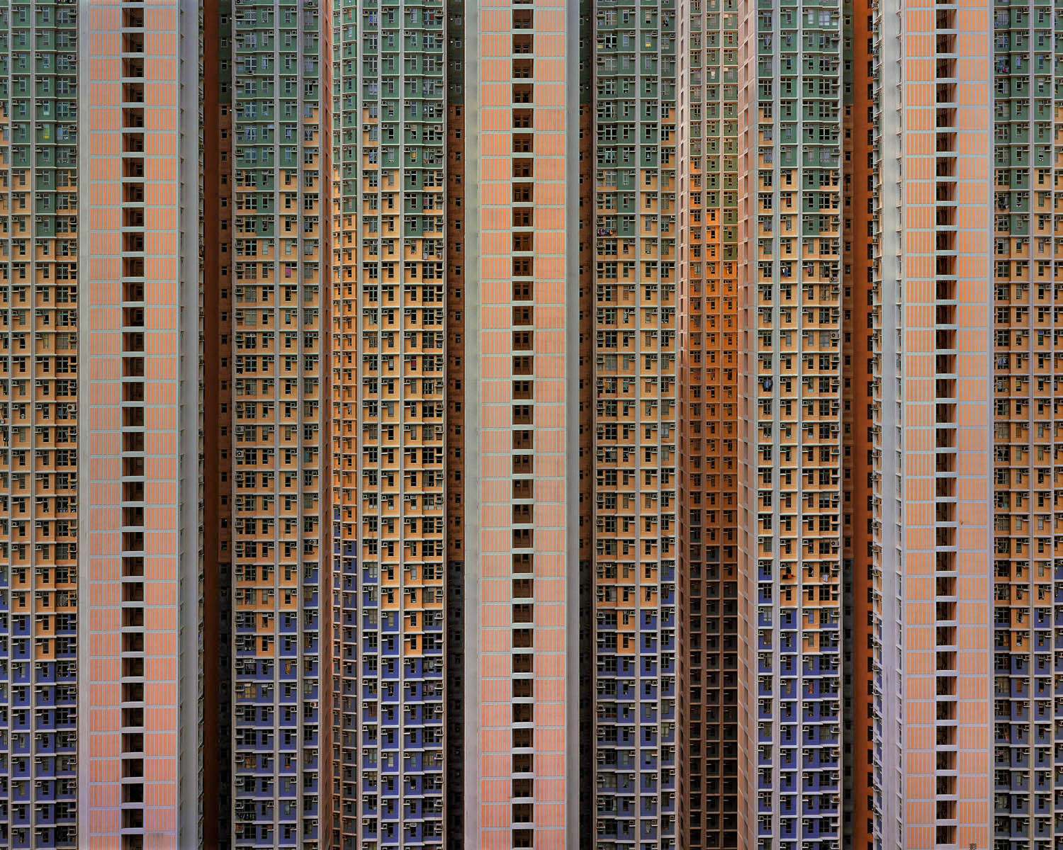 """'Architecture of Density #91"""", Hong Kong 2006, 40 x 52"""" Edition 9 of 9 (Blue Lotus Gallery)"""