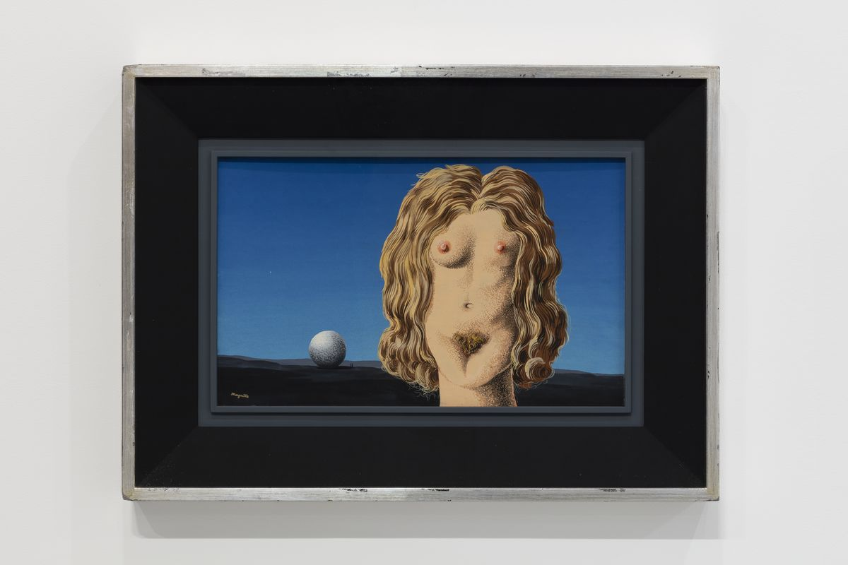 René Magritte - The Rape - 1942 - Gouache on paper - 30.3 x 49 cm / 11 7/8 x 19 1/4 in