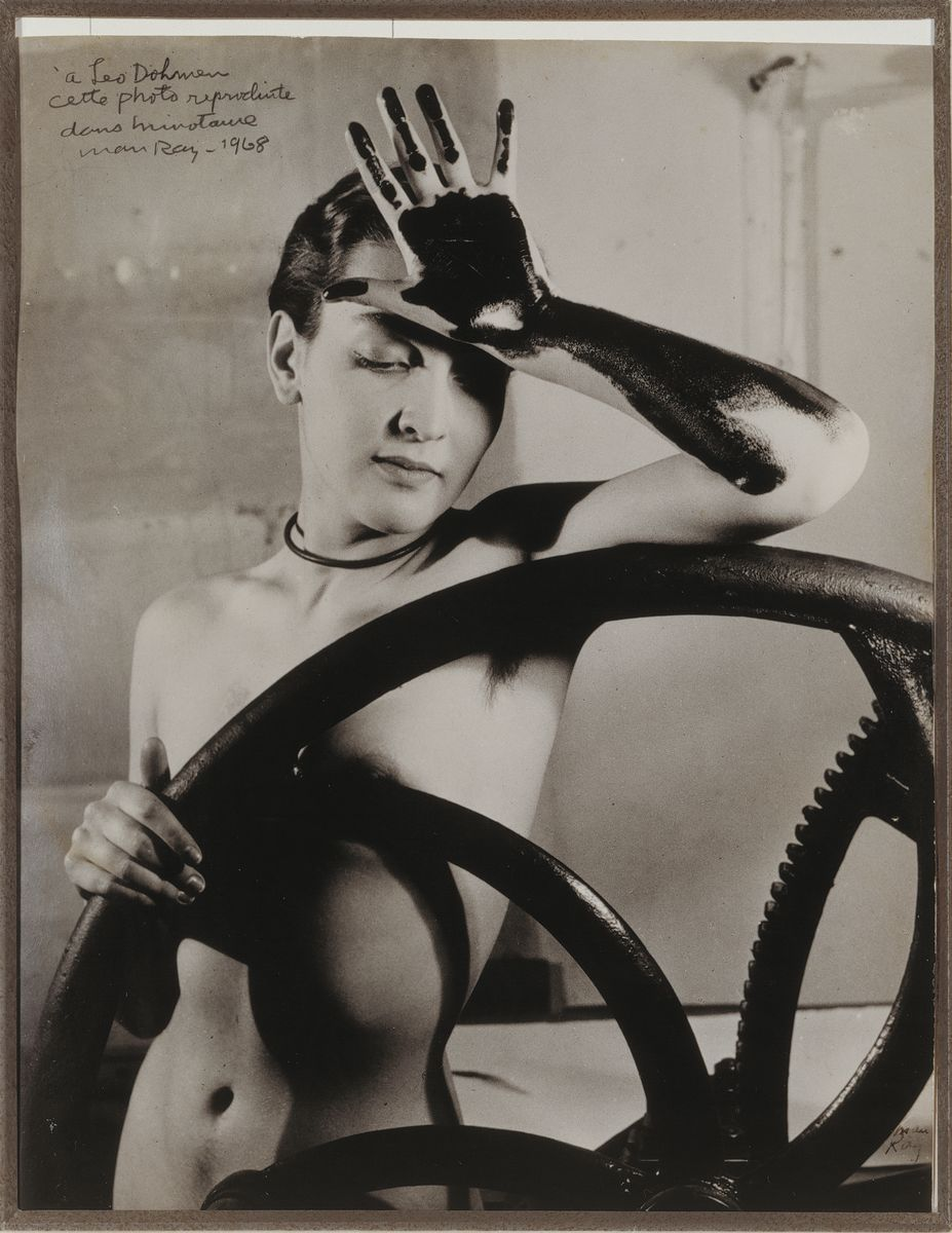 Man Ray - Veiled Erotica (Meret Oppenheim) 1933 -1968 Silver print 30 x 23 cm / 11 3/4 x 9 in