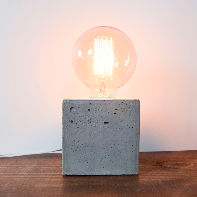 Concrete Lamp
