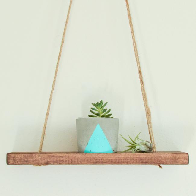 Wood Swing Shelf