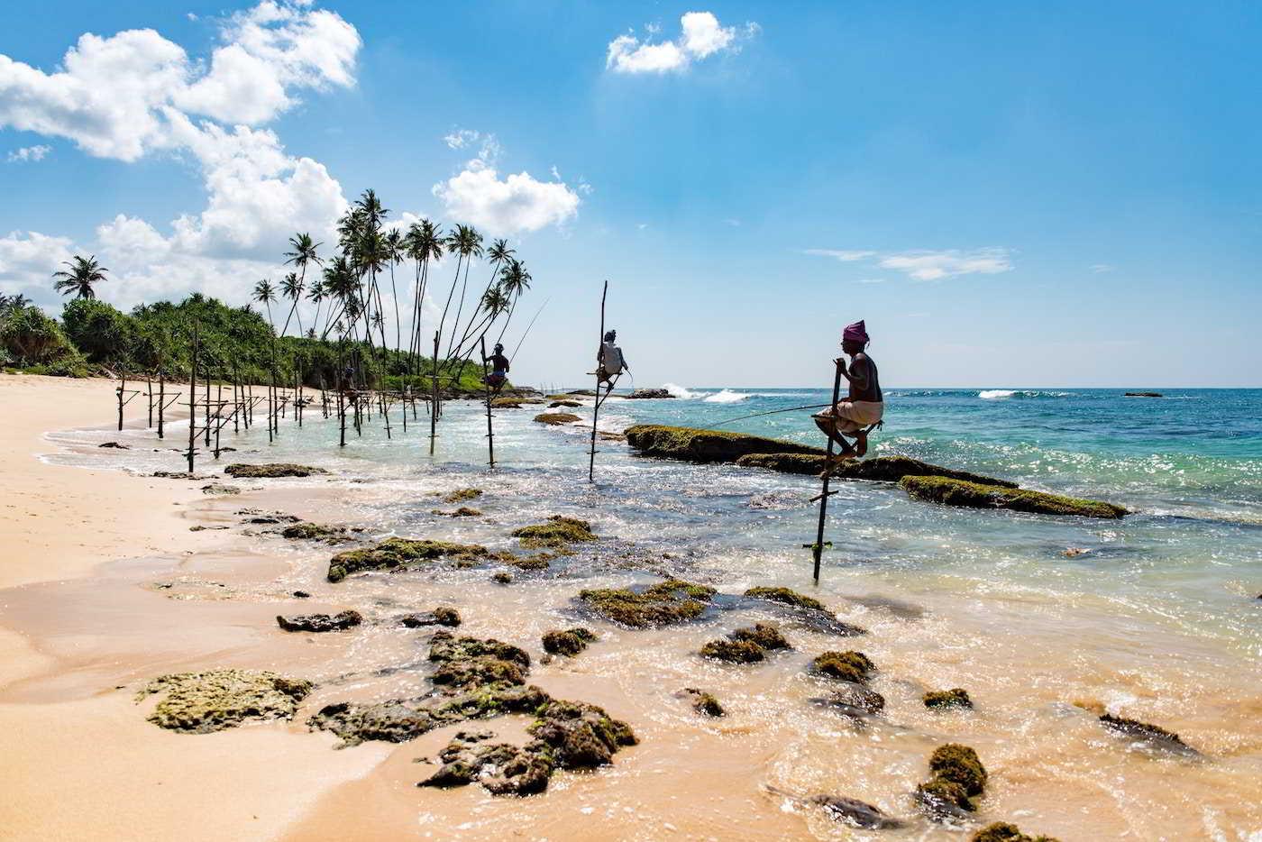 earthlinks srilanka fishermans sticks ocean beach sand.jpg
