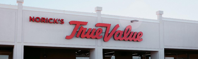 Norick's True Value storefront