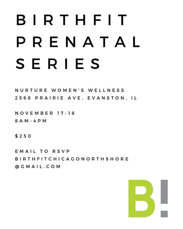 Only a few spots left in the last BIRTHFIT Prenatal Series of the year! Be sure to claim your spot! #BIRTHFIT #prenatal