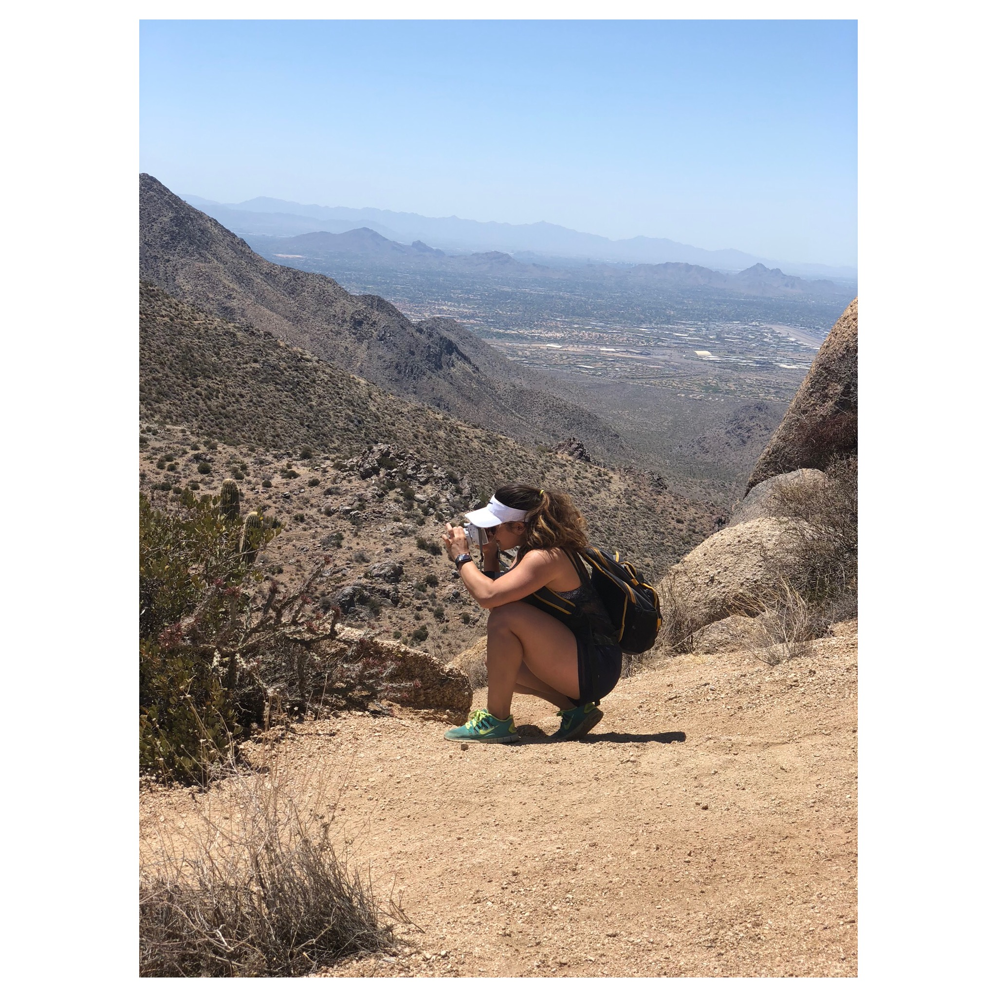 One thing about me you didn't know!  I love to hike, take photos of nature, and be outdoors when I can.