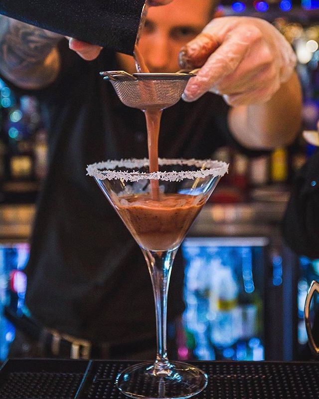 "Martini says.... It's worth getting your hands on our ""NUTELLA MARTINI"" tonight🙋‍♀️😋 @martiniandcoplentyvalley"
