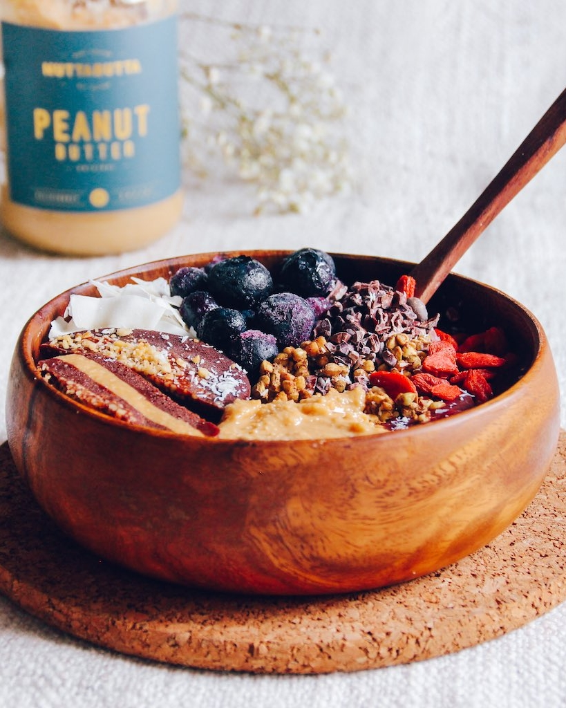 Choc-PB Acai Bowl Recipe - Perth Food Photography.jpg