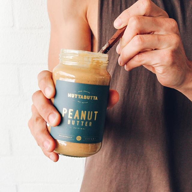 The one and only mid-afternoon pick me up 🤤🥜 Am i right!? 🙋♂️ @nuttabutta_oz