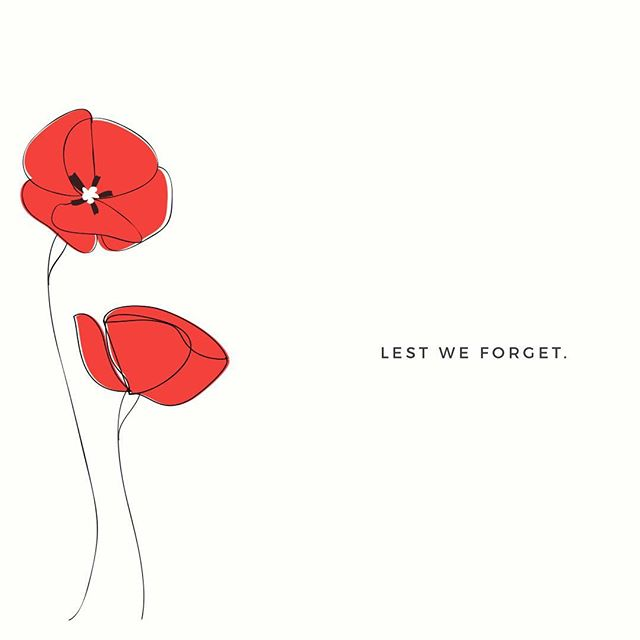 We will remember them |  #lestweforget #anzacday