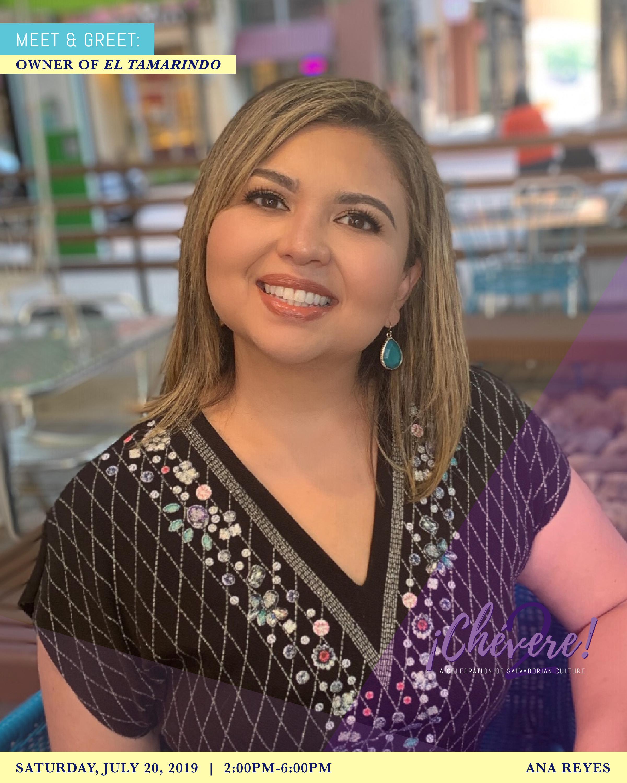 Meet & Greet: Ana Reyes