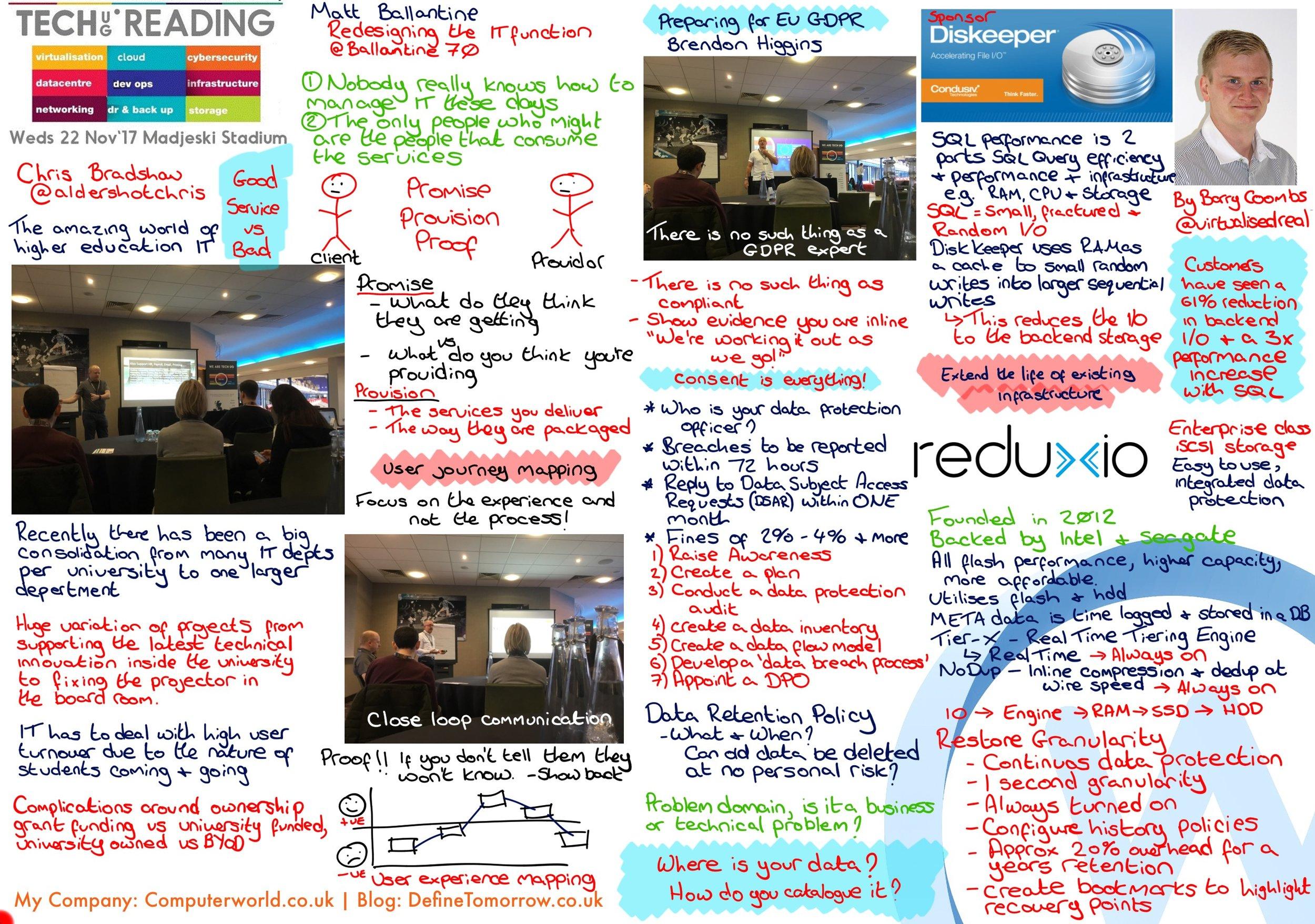 TechUG Reading - November 2017