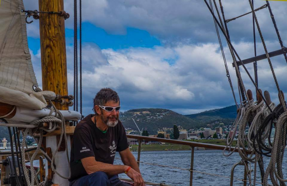 Sea Shepherd Tim - Crew member of the Year 2018