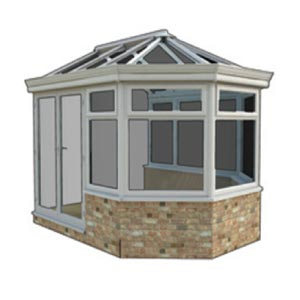 Victorian - Victorian conservatories offer a traditional look; they tend to have three or five facets to the front elevation, and ornate detailing along the ridge of the apex roof. Be careful though the shaped front will limit your usable space compared to a squarer style.
