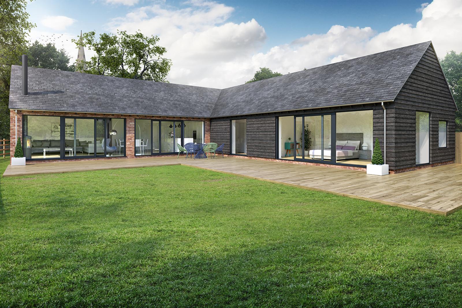 New build dwelling, Rauds Road, Keyston
