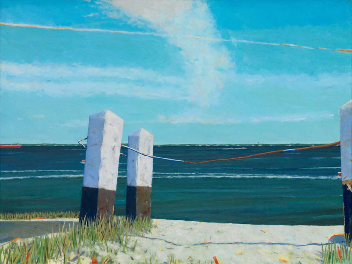 Frances McGuire_Granary Gallery_artifactsmv_East Chop posts.JPG
